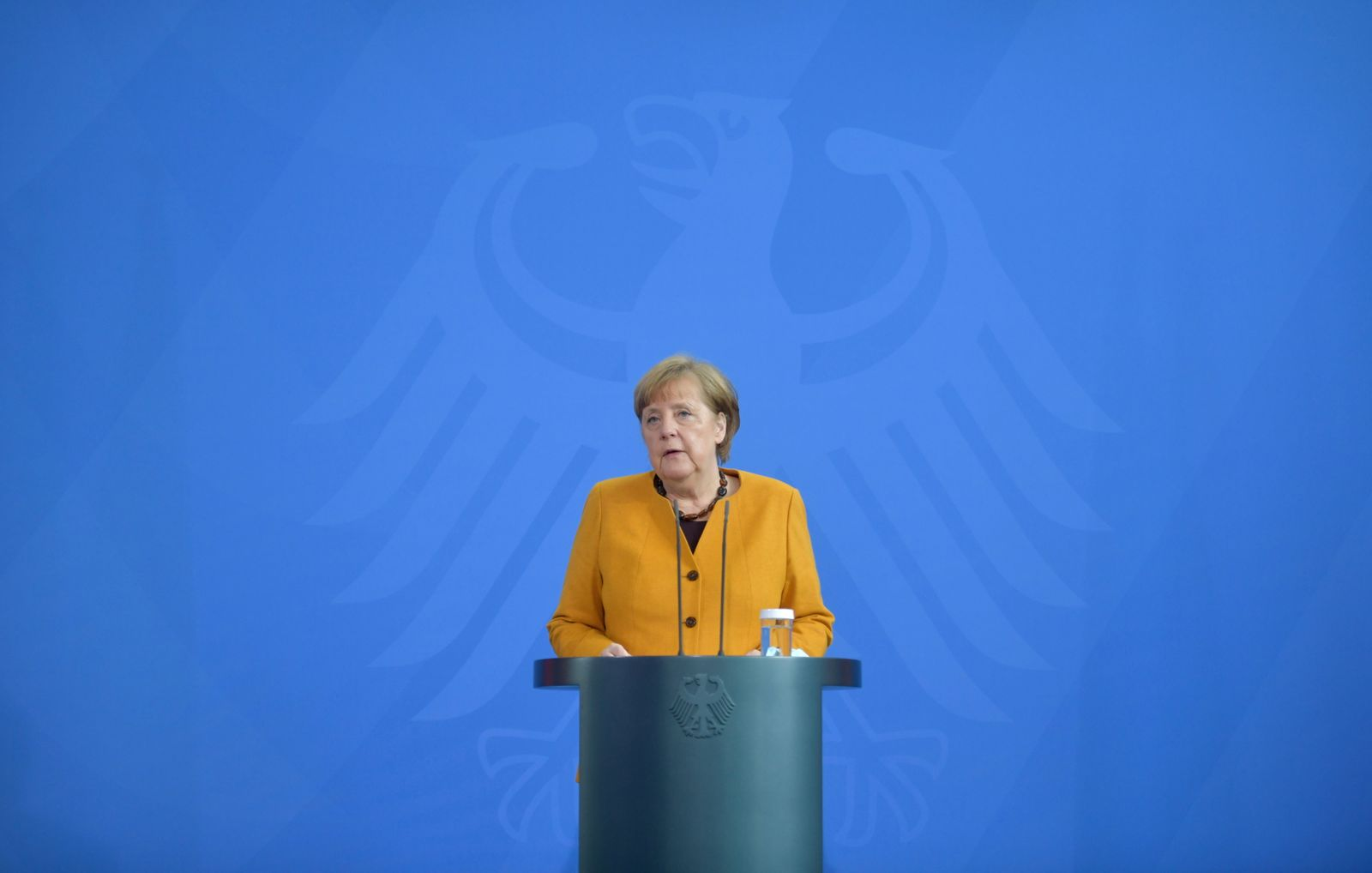 Germany's Merkel to discuss the COVID-19 pandemic with state leaders