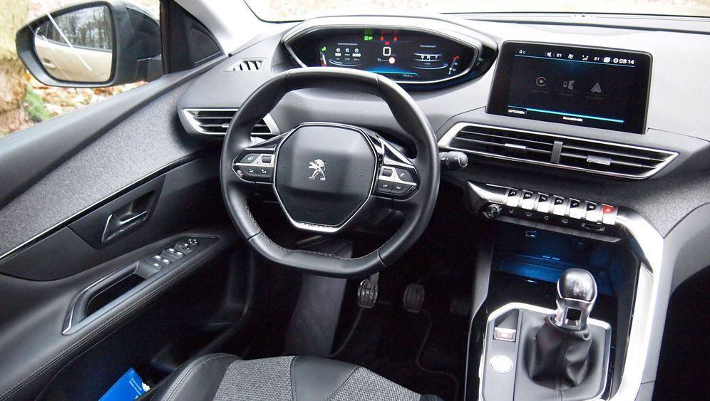 Peugeot 3008: Einfach darüber hinwegsehen