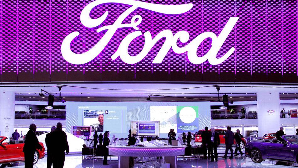 Ford-Stand bei der North American International Auto Show (Archiv)