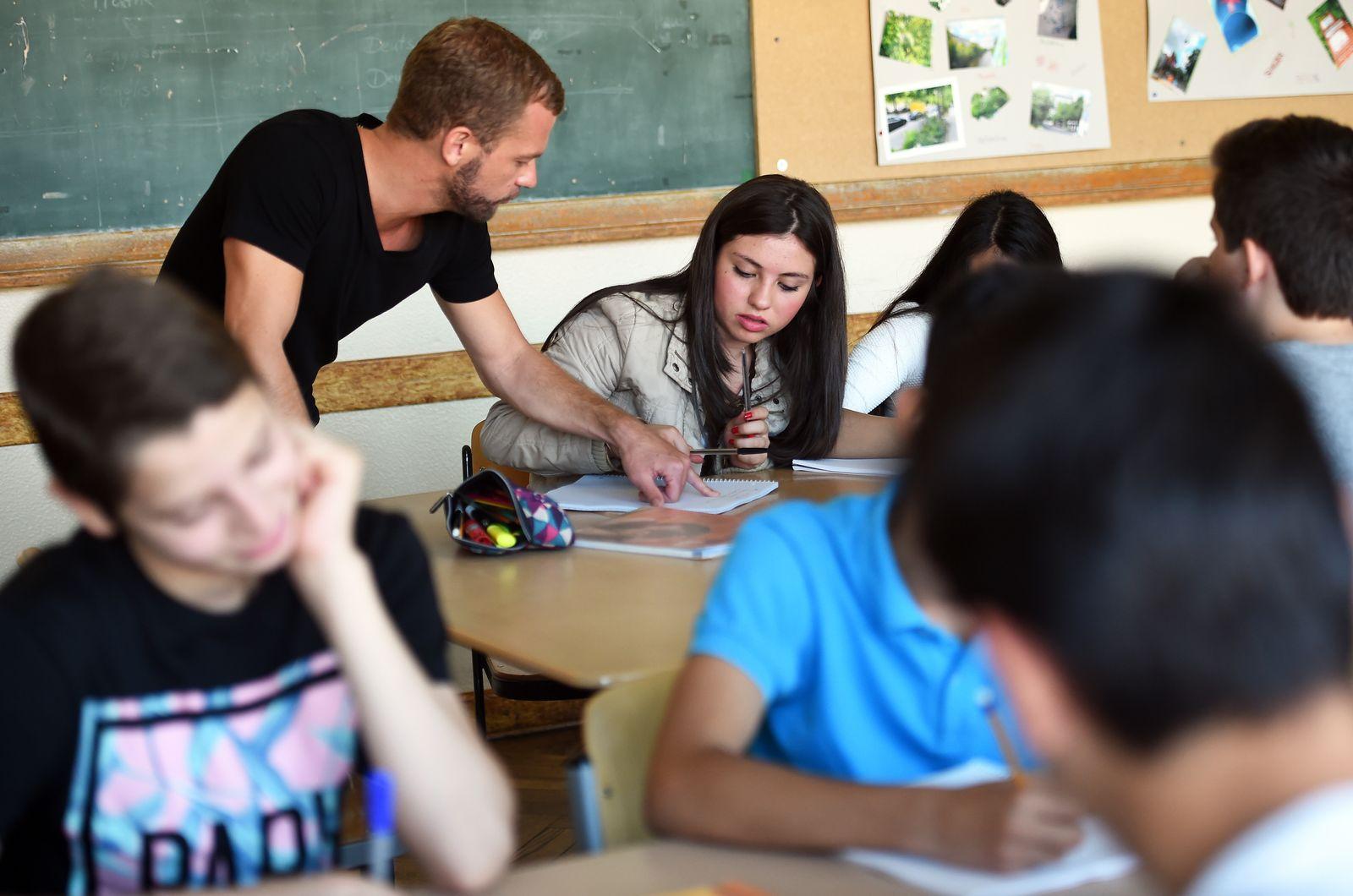 Flüchtlinge Schule Lehrer