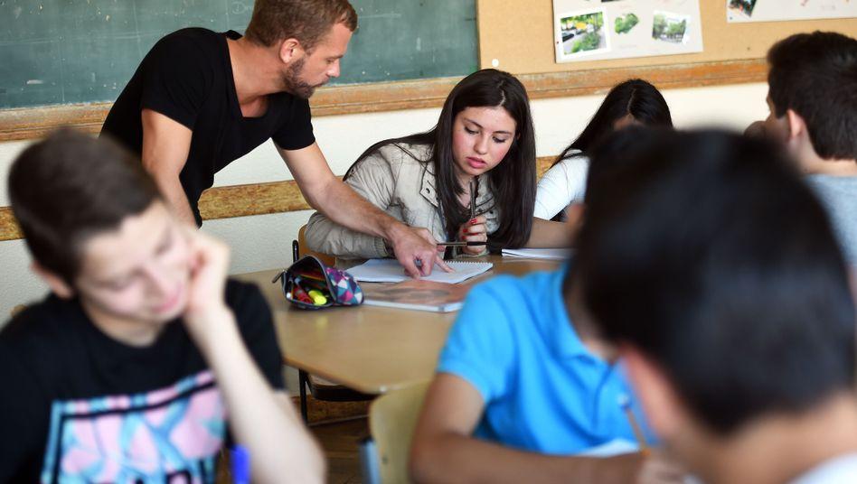 Schulklasse in Berlin
