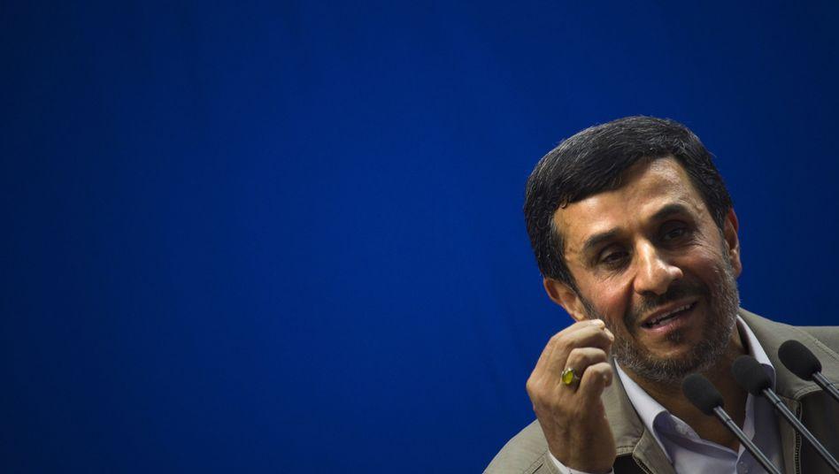 """Iranischer Präsident Ahmadinedschad: """"Viele Enttäuschungen und Lügen"""""""