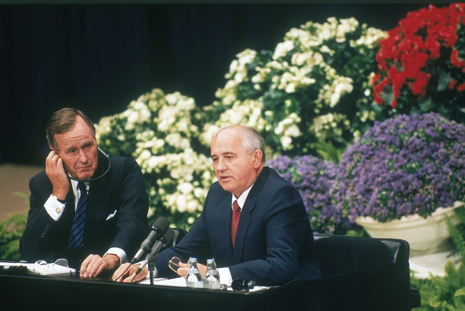 Helsinki Bush Gorbatschow