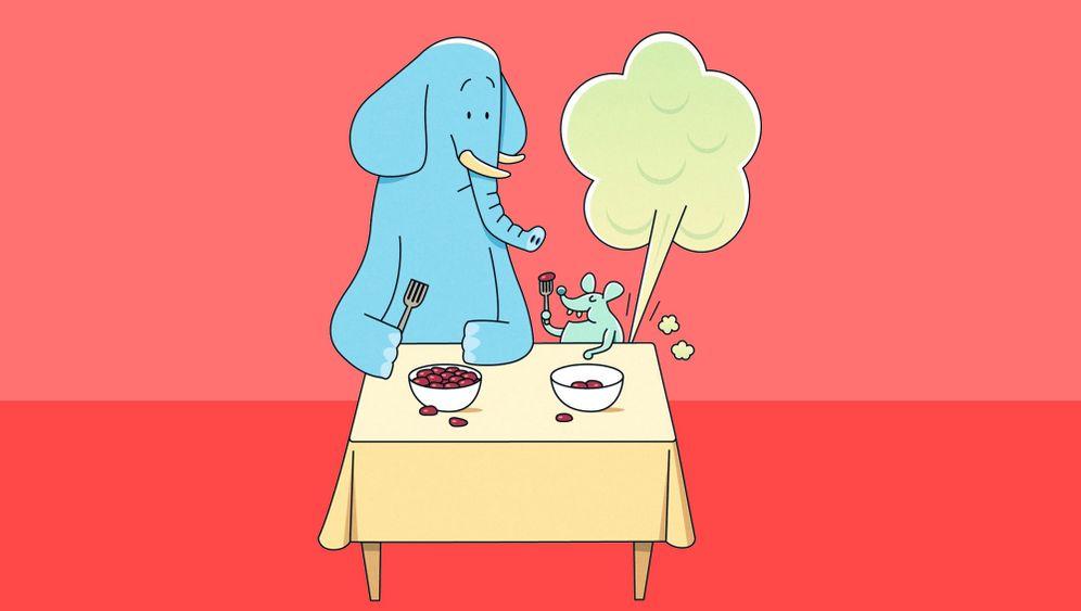 Törööööh! Nicht jedes laute Tröten kommt aus einem Elefanten