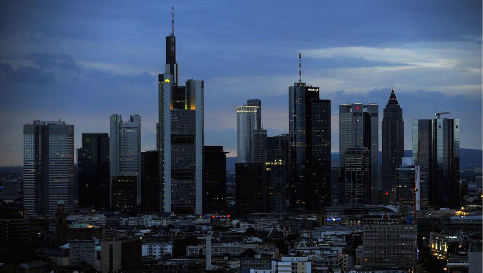 Banken-Skyline in Frankfurt am Main: Angst vor einer Kreditklemme