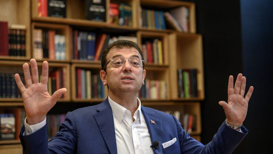 Istanbuls neuer Bürgermeister Ekrem Imamoglu: Bei den Neuwahlen im Juni gewann er mit deutlichem Vorsprung