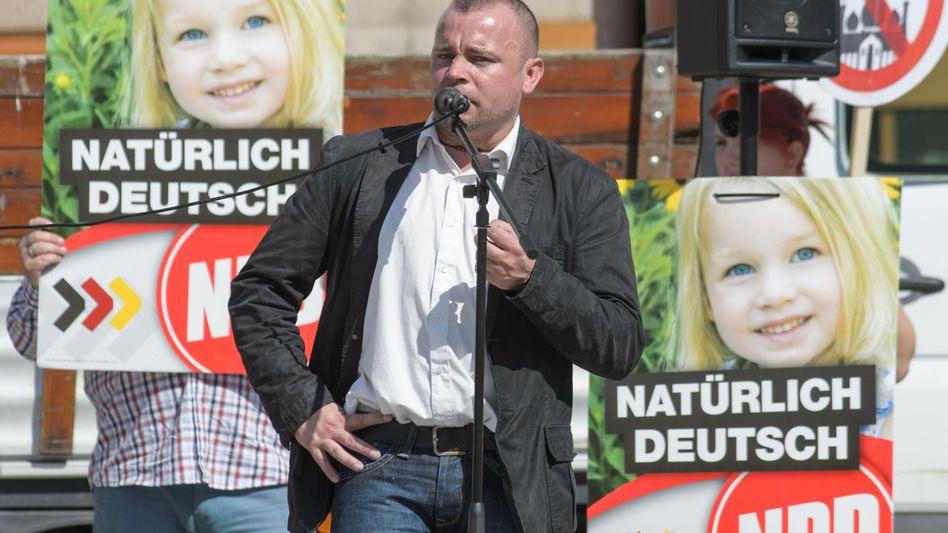 Patrick Wieschke im Wahlkampf (Archiv): Anzeige einer 12-Jährigen
