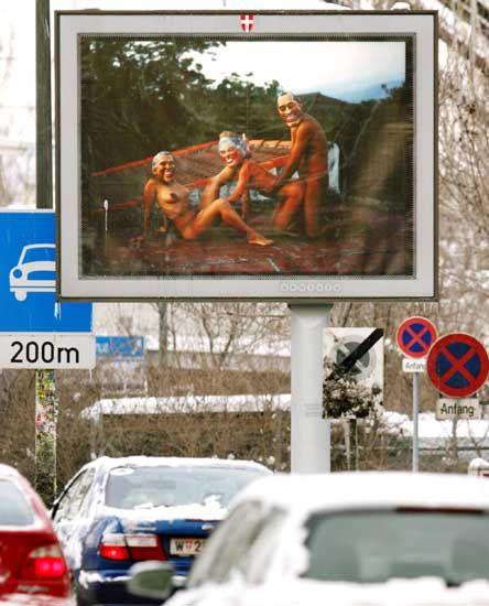 Skandal in Wien: Falsche Queen beim Gruppensex