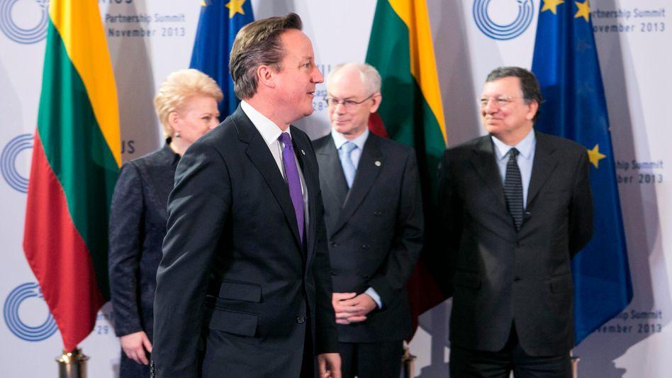 Cameron beim EU-Gipfel: Beschwerde über Kommissar Andor