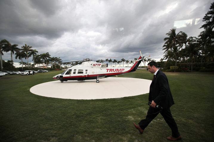 Mitarbeiter des Secret Service auf Mar-a-Lago: Das Hotel soll bis zu 650 Dollar pro Nacht berechnet haben