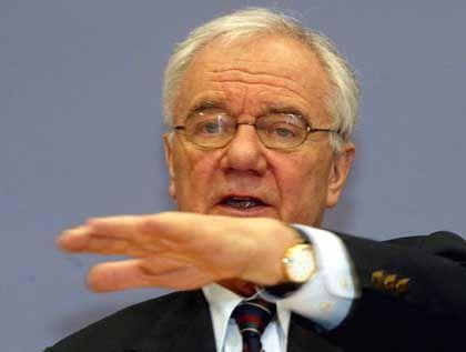 Minister Stolpe: Schadensbegrenzung im Frühstücks-TV