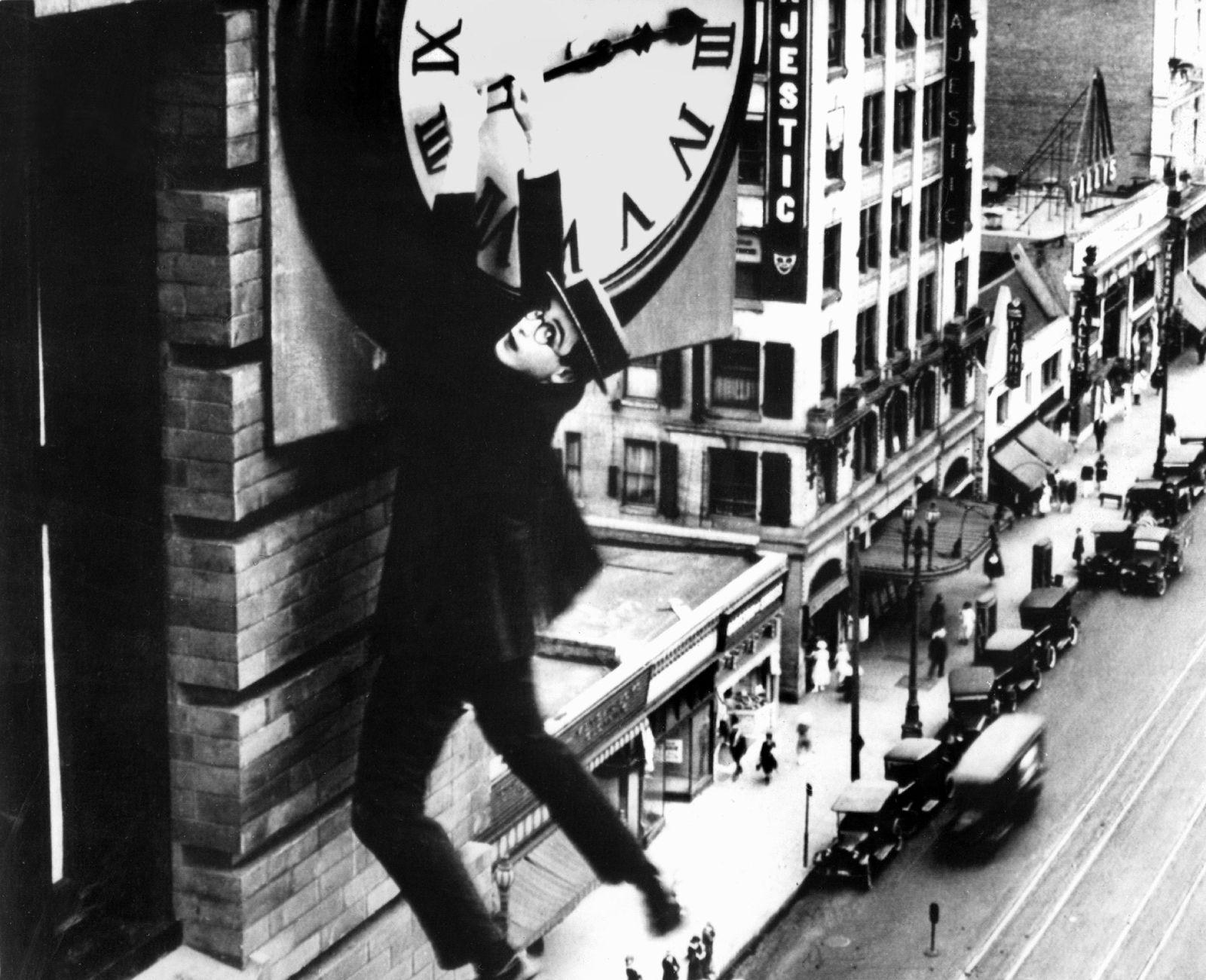 Winterzeit / Uhrzeiger / Uhr / Harold Lloyd