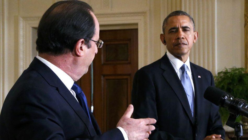 """Präsidenten Hollande, Obama: """"Das gegenseitige Vertrauen ist wiederhergestellt worden"""""""
