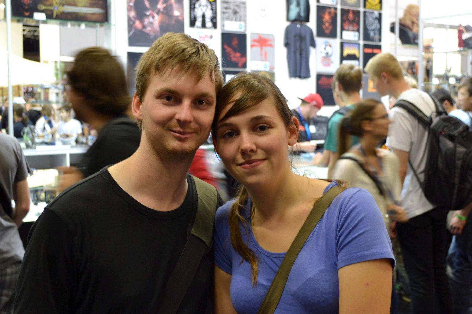 Pärchenfotos Gamescom/ Daniel und Malena