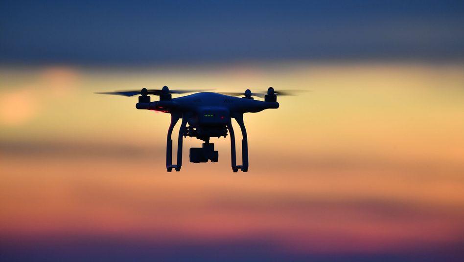 Branchenkenner erwarten einen Milliardenmarkt mit Drohnen