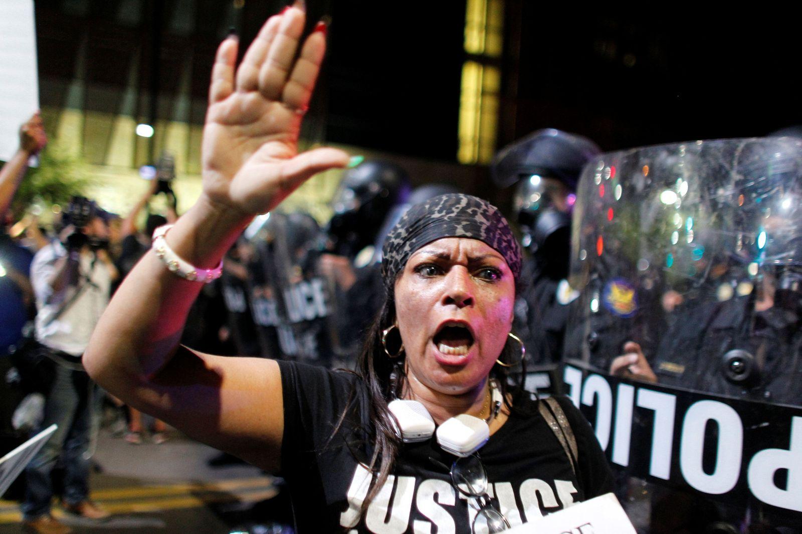 Proteste 9.7.2016 / USA