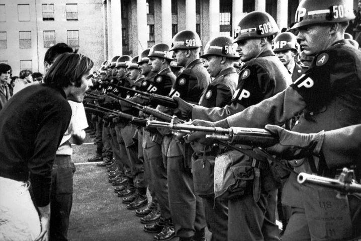 Anti-Vietnam-Krieg-Demo in Washington, 1967.