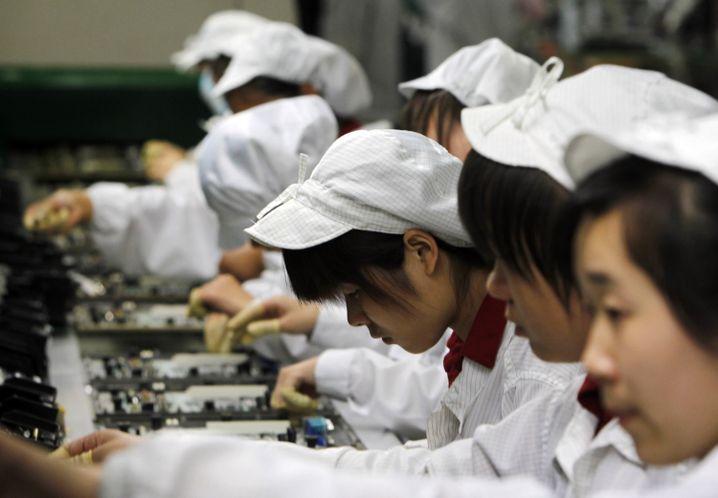 Wanderarbeiter bei Foxconn: Leistungsdruck bis zum Suizid
