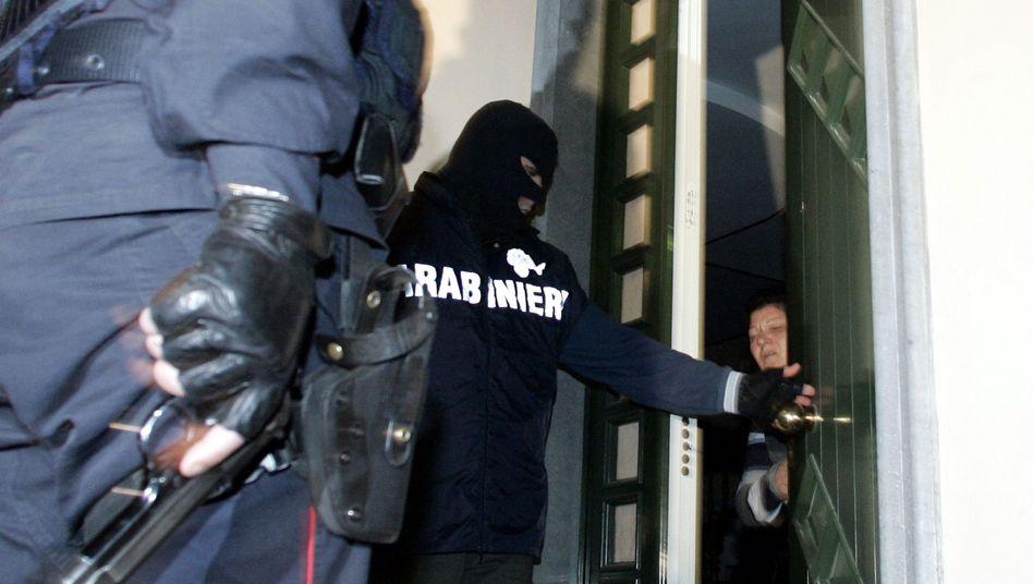 """""""Maxi-Blitz"""" in Italien: Neue Erkenntnis über die innere Struktur der 'Ndrangheta"""