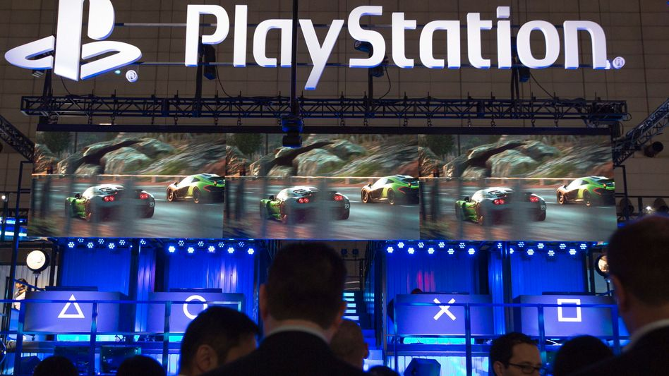 Playstation-Stand auf einer Spielemesse: PSN-Kunden mussten tagelang aufs Onlinespielen verzichten