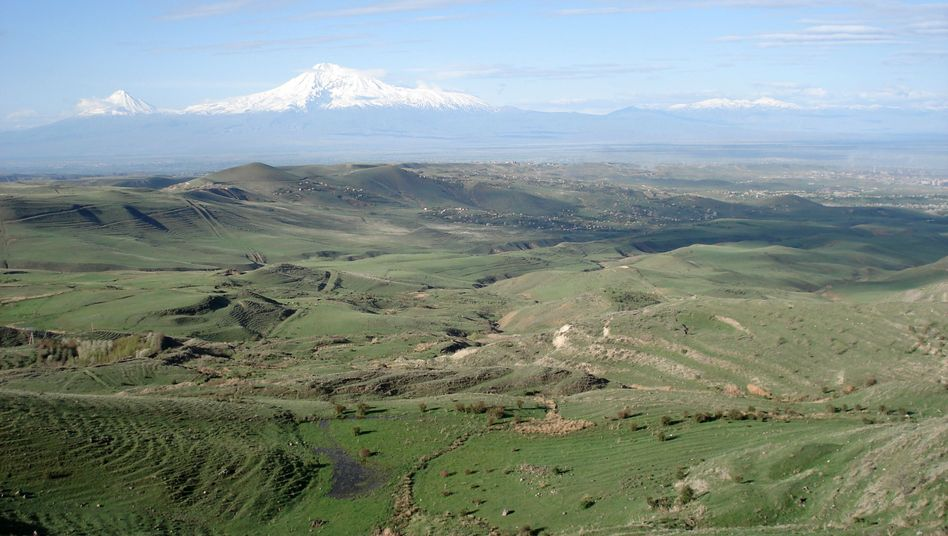"Mt. Ararat, Armenia's national symbol, is actually located in Turkey: ""A time will come when Mount Ararat is no longer a symbol of the separation between our peoples."""