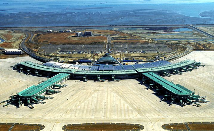 Platz eins: Incheon International Airport in Seoul