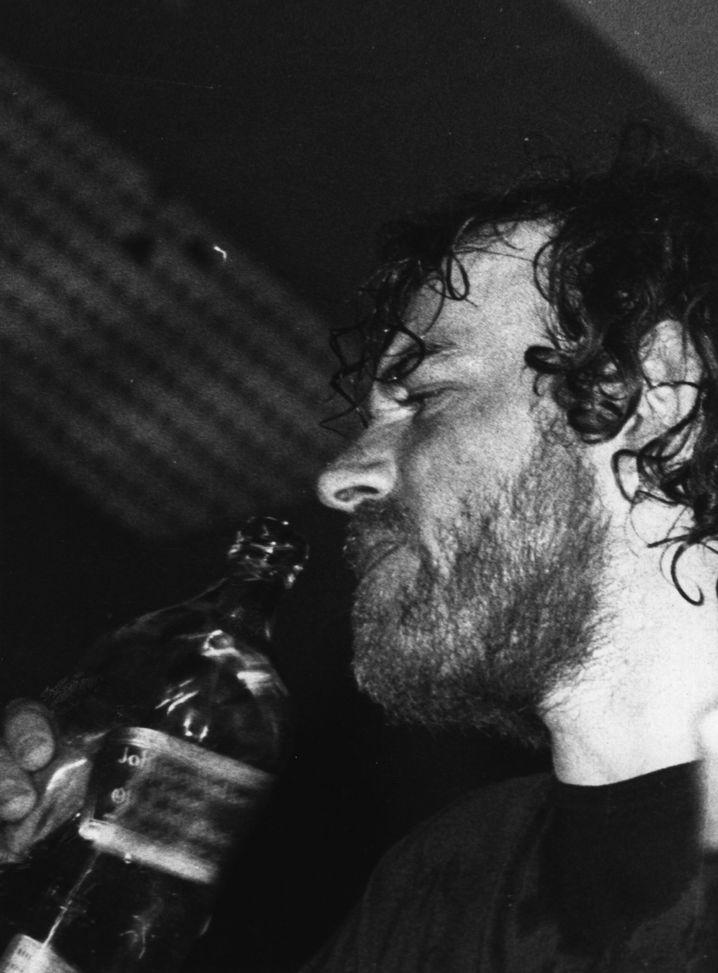 Whiskyschluck auf Australien-Tour im Jahre 1972
