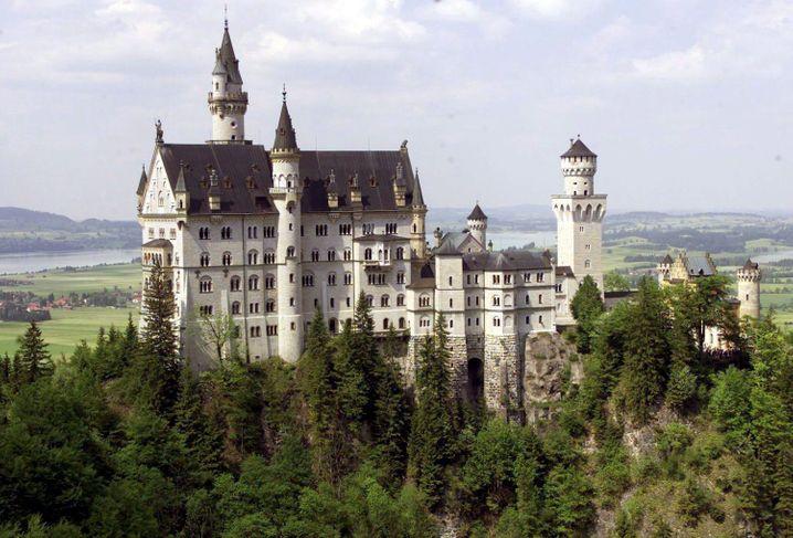 Schloss Neuschwanstein (Archiv)