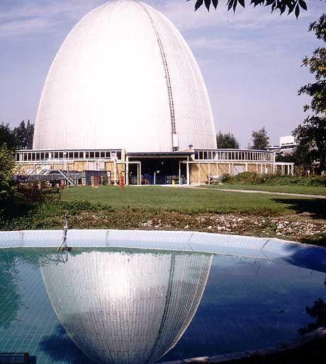 Das Garchinger Atom-Ei wurde stillgelegt