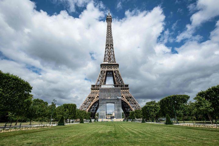 Blick auf den Eiffelturm (Archivaufnahme)