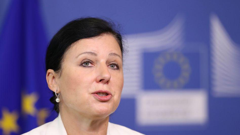 """Vera Jourova über Richter in Polen (Archivbild): """"Keine Atmosphäre, in der sie ihre Aufgaben erfüllen können"""""""