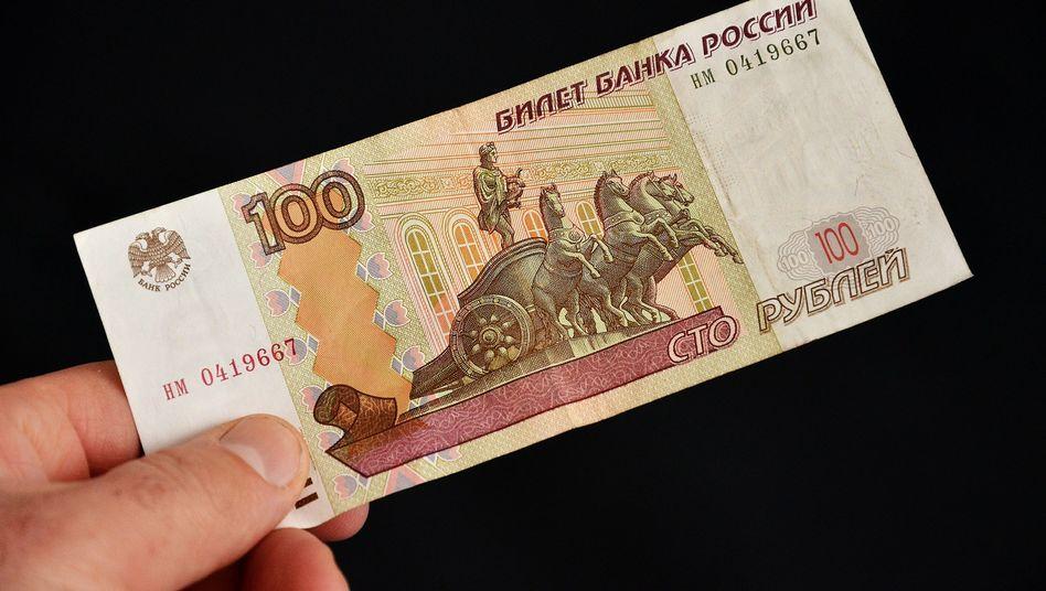 Hundert-Rubel-Schein: Neue Banknoten mit Krim-Motiv geplant