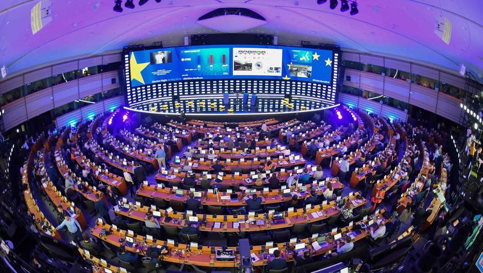Europäisches Parlament in Brüssel
