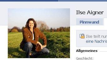 Facebook-Eintrag von Ministerin Ilse Aigner: Jetzt will sie ihr Profil löschen