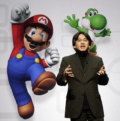 """Satoru Iwata bei der E3 2008: """"Wir können nicht jedes Jahr ein 'Mario' oder 'Zelda' bringen"""""""