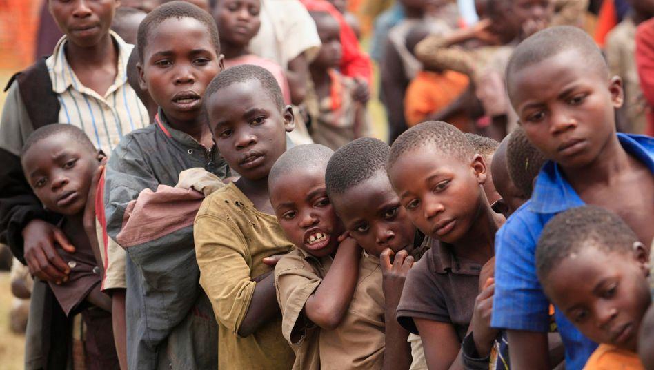 Flüchtlingskinder in Uganda (Archiv)