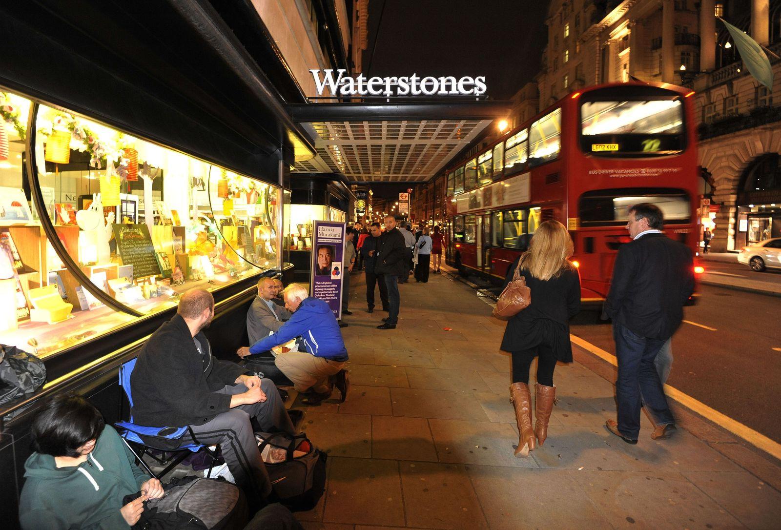Waterstones/ Buchhandlung/ London