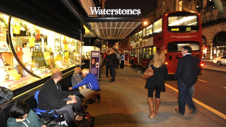 Waterstones-Filiale in London (Archivbild): Eingesperrt nach Ladenschluss