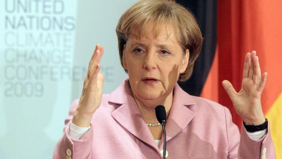"""Bundeskanzlerin Merkel: """"Besteht der feste Wille, das Abkommen Ende 2010 zu fixieren"""""""