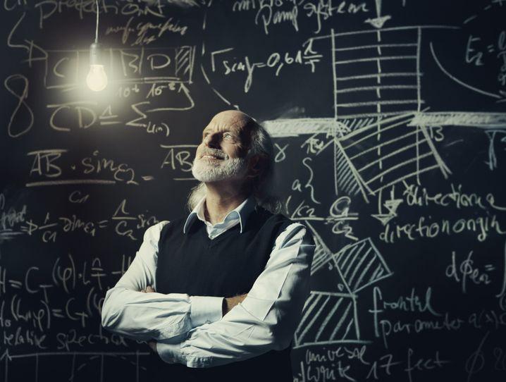 Wissenschaftler mit vielen Geldquellen: Professoren stehen besser da, als der Lohnzettel vermuten lässt (Symbolbild)