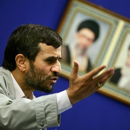 Präsident Ahmadinedschad: Gefährdet deutschen Export