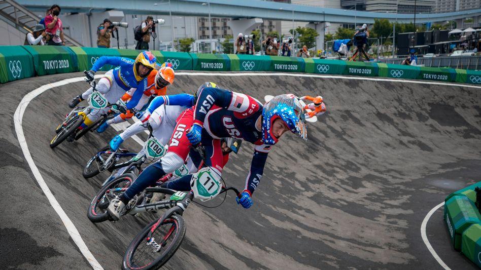 BMX-Olympiasieger von 2016, Connor Fields, in Tokio