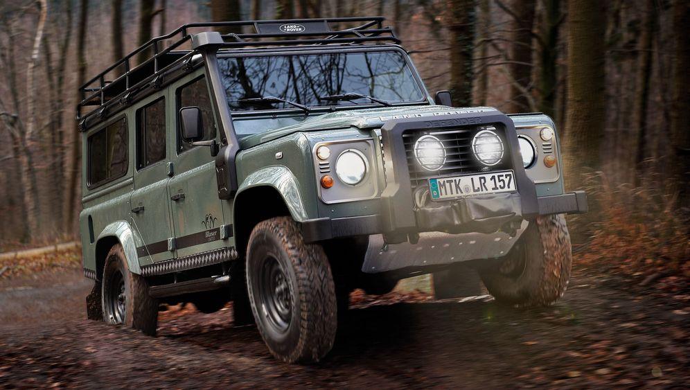 """Land Rover Defender """"Blaser Edition"""": Die Flinte im Kofferraum"""