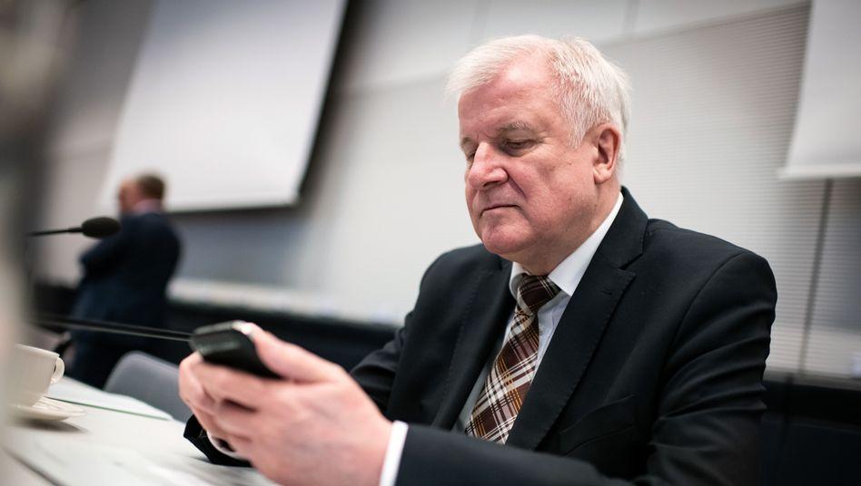 Kein Twitter-Fan: Bundesinnenminister Horst Seehofer (CSU)