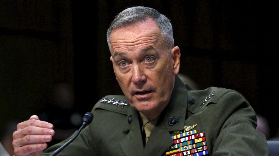 """Designierter Generalstabschef Dunford: """"Bedrohung für die Vereinigten Staaten"""""""