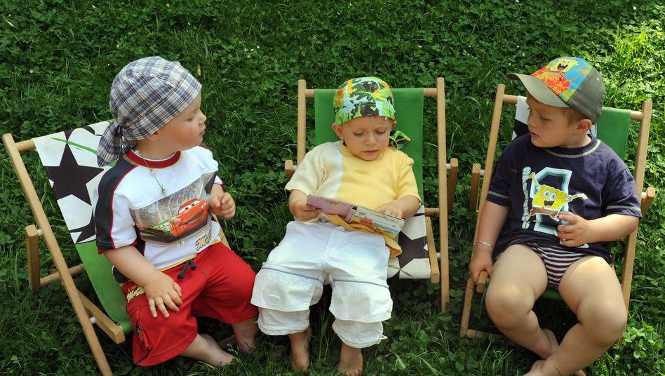 Zweijährige im Kindergarten: Klagen gegen Kinderlärm sollen künftig nicht mehr so leicht möglich sein