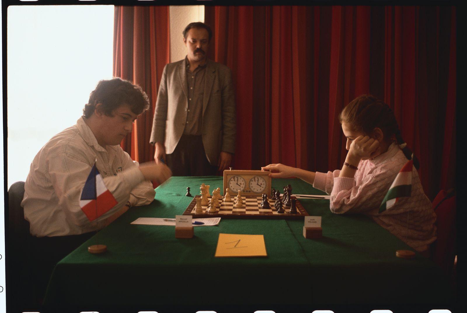 Chess Prodigy Judith Polgar
