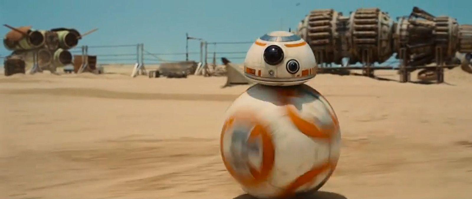 EINMALIGE VERWENDUNG Kino/ Star Wars: Das Erwachen der Macht/ Episode 7/ Screenshot Trailer
