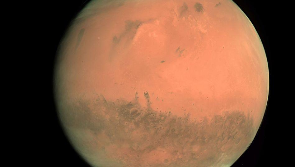"""Mars (im Februar 2007): """"Mehr über die Geschichte des Lebens auf der Erde erfahren"""""""