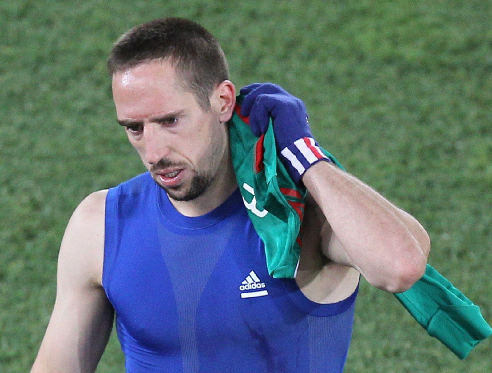 Ribery enttäuscht nach Niederlage gegen Mexiko